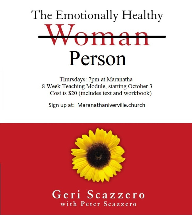 The Emotionally Healthy Person